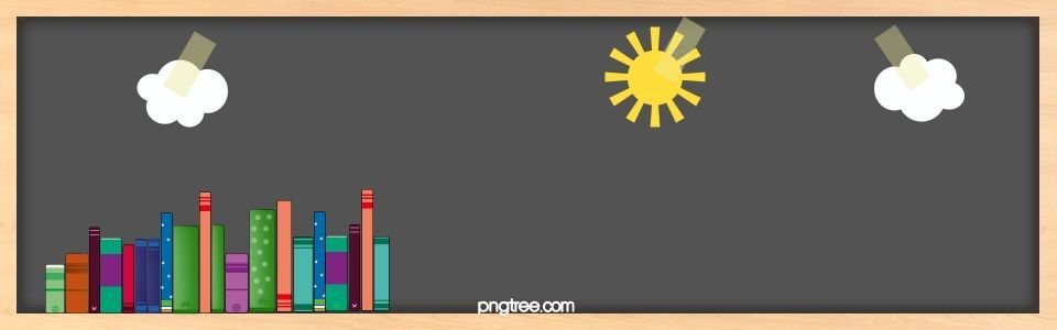 Book Blackboard Education Banner Background 297448750389775382 In 2020 Education Banner Teacher Cartoon Banner