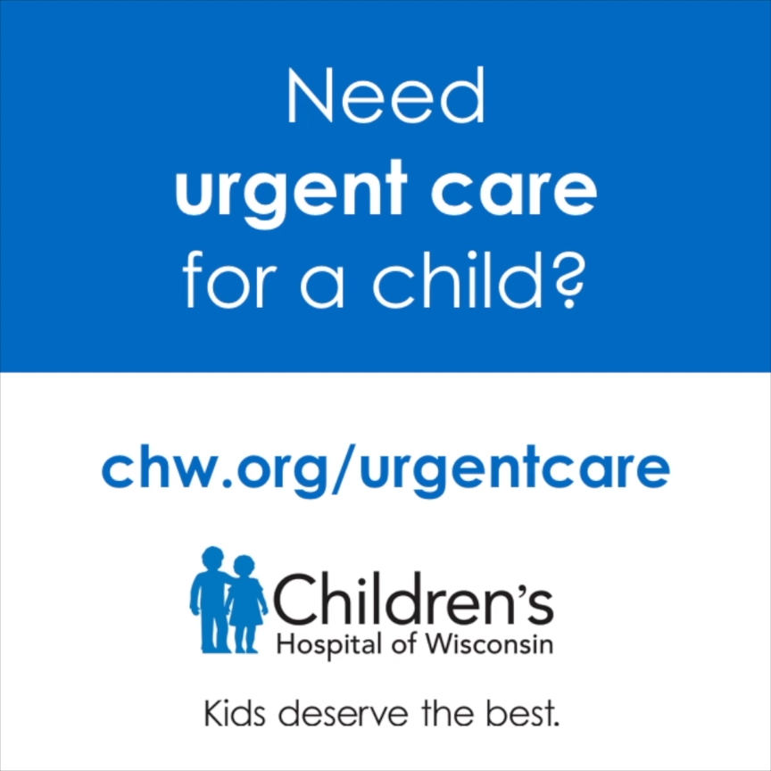 Need urgent care for a child in the evening or on the