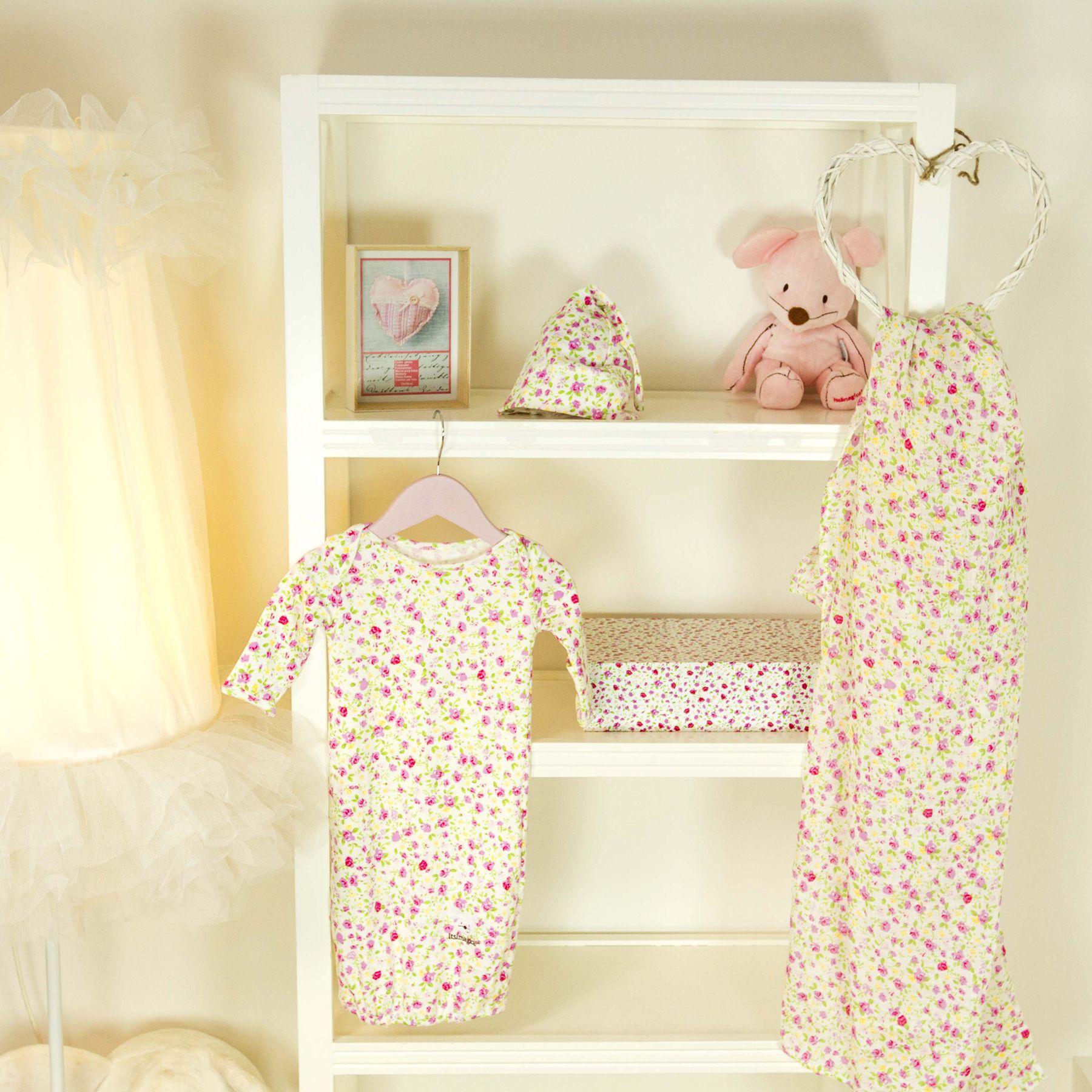 Set primera puesta para bebé de color rosa   Nuevos bebés, Bebé de ...