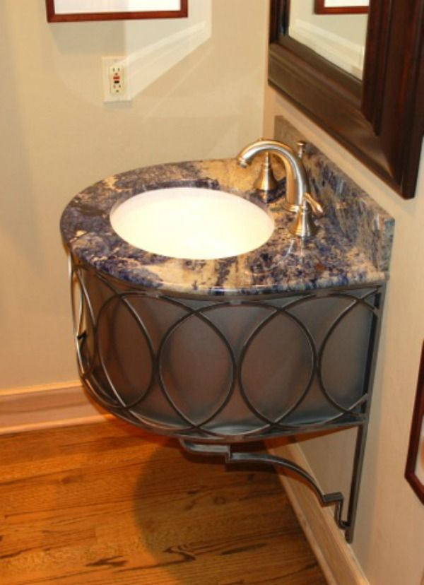 The Right Iron Bathroom Vanity Base For Your E