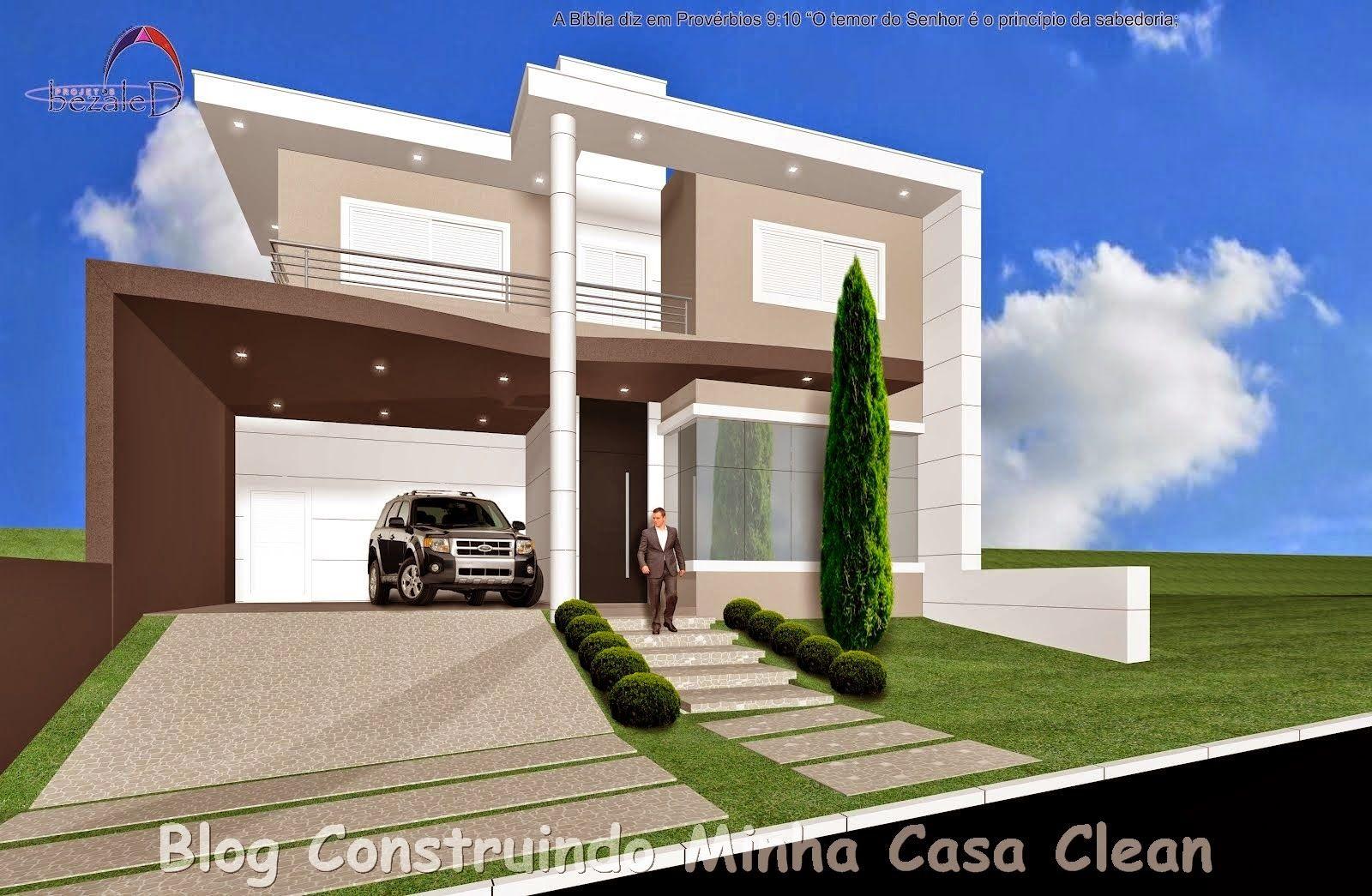 Top 10 Fachadas De Casas Modernas Com Paisagismo E Muros