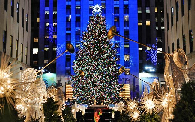 the world famous rockefeller center christmas tree will be unveiled this year on wednesday december 2 the lighting ceremony will run from 7 to 9 pm at