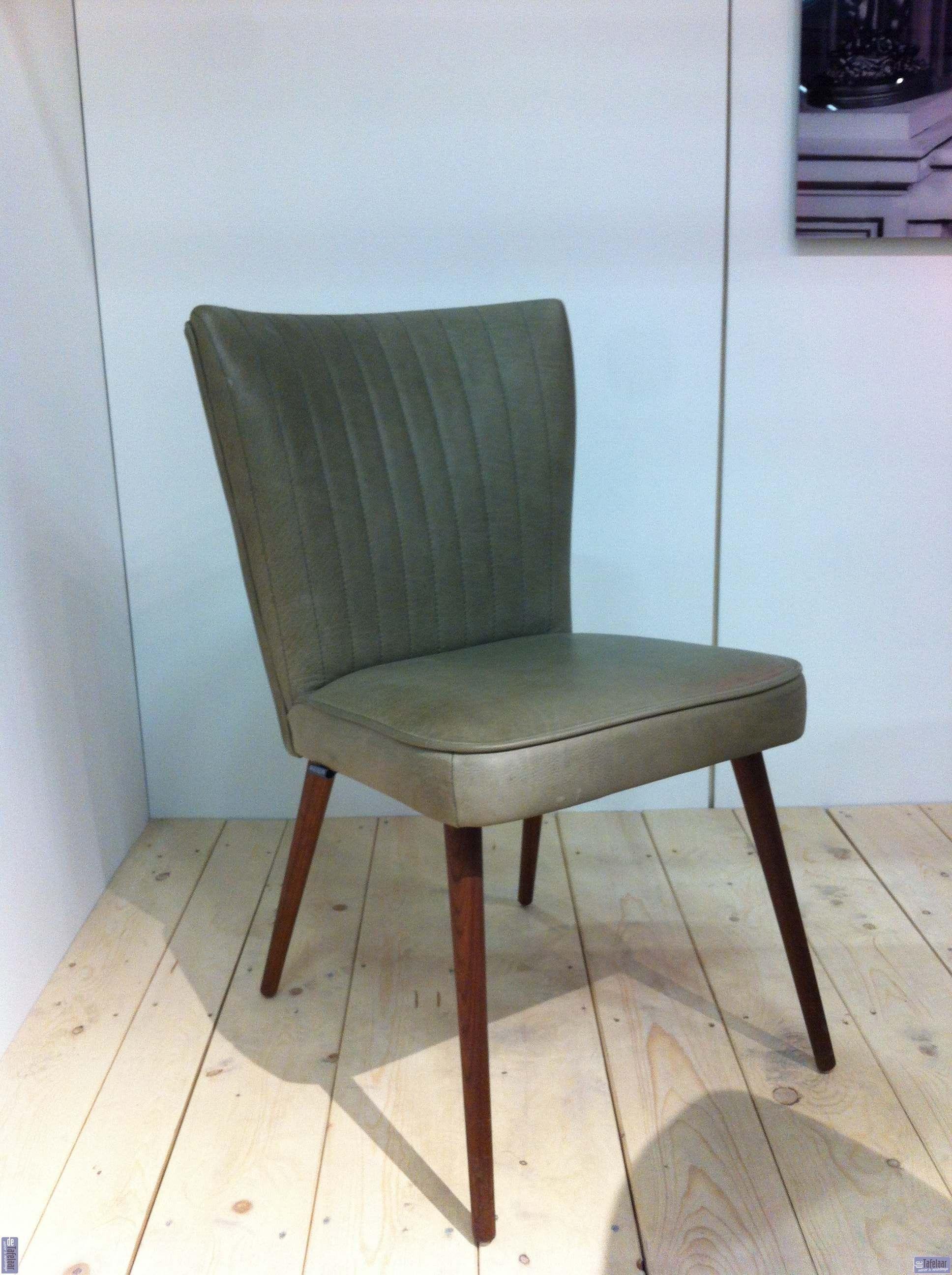 Retro Stoel Met Notenhouten Poten Dining Chairs Chair
