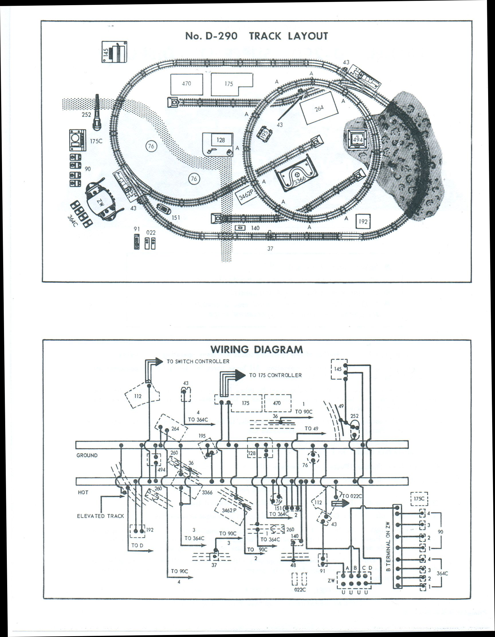 D290 Dealer Track Wiring Diagram Lionel Trains Pinterest