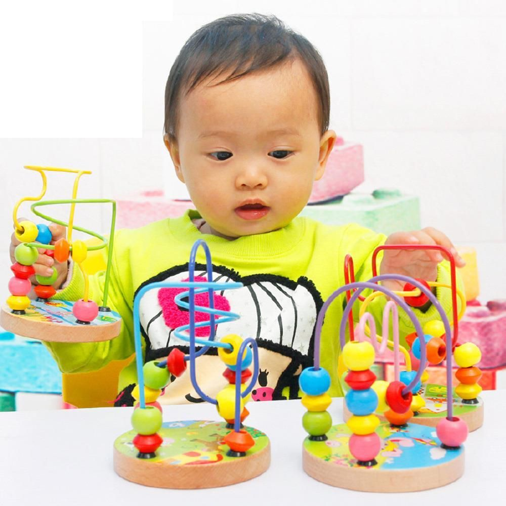 Montessori Beaded Block Age Range: > 3 years old | Baby ...