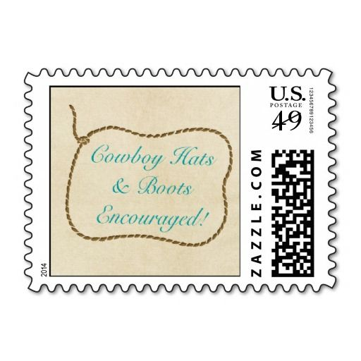 Western Round Up Stamp
