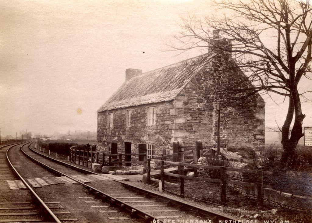 Stephenson's Birthplace Wylam C.1890 in 2020