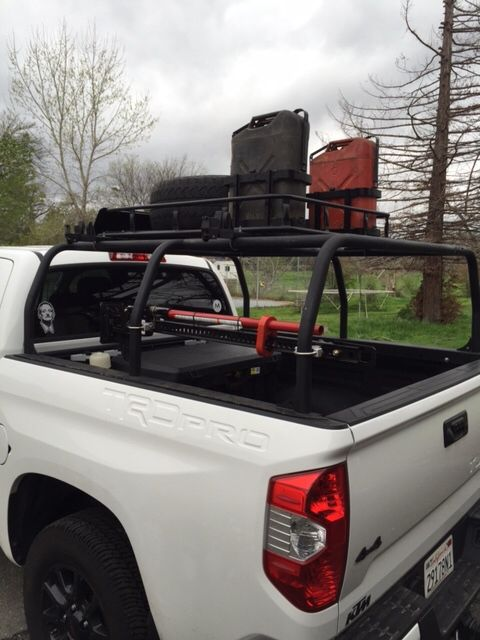 All Pro Off Road Pack Rack. | Offroad trucks, Toyota ...