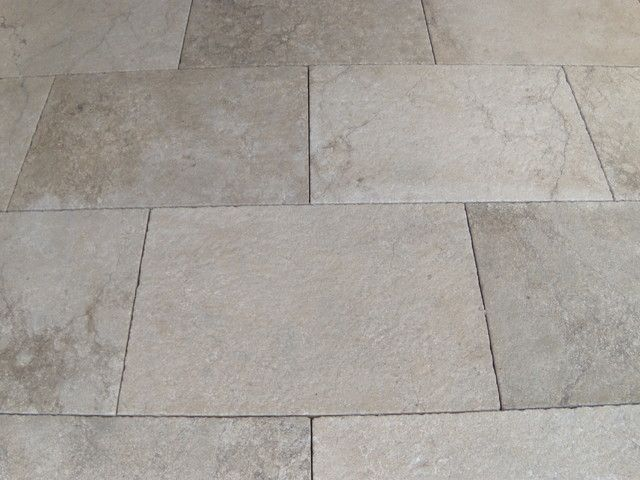 Castile Grey Limestone Eclectic Floor Tiles Boston Paris Ceramics Usa Boston