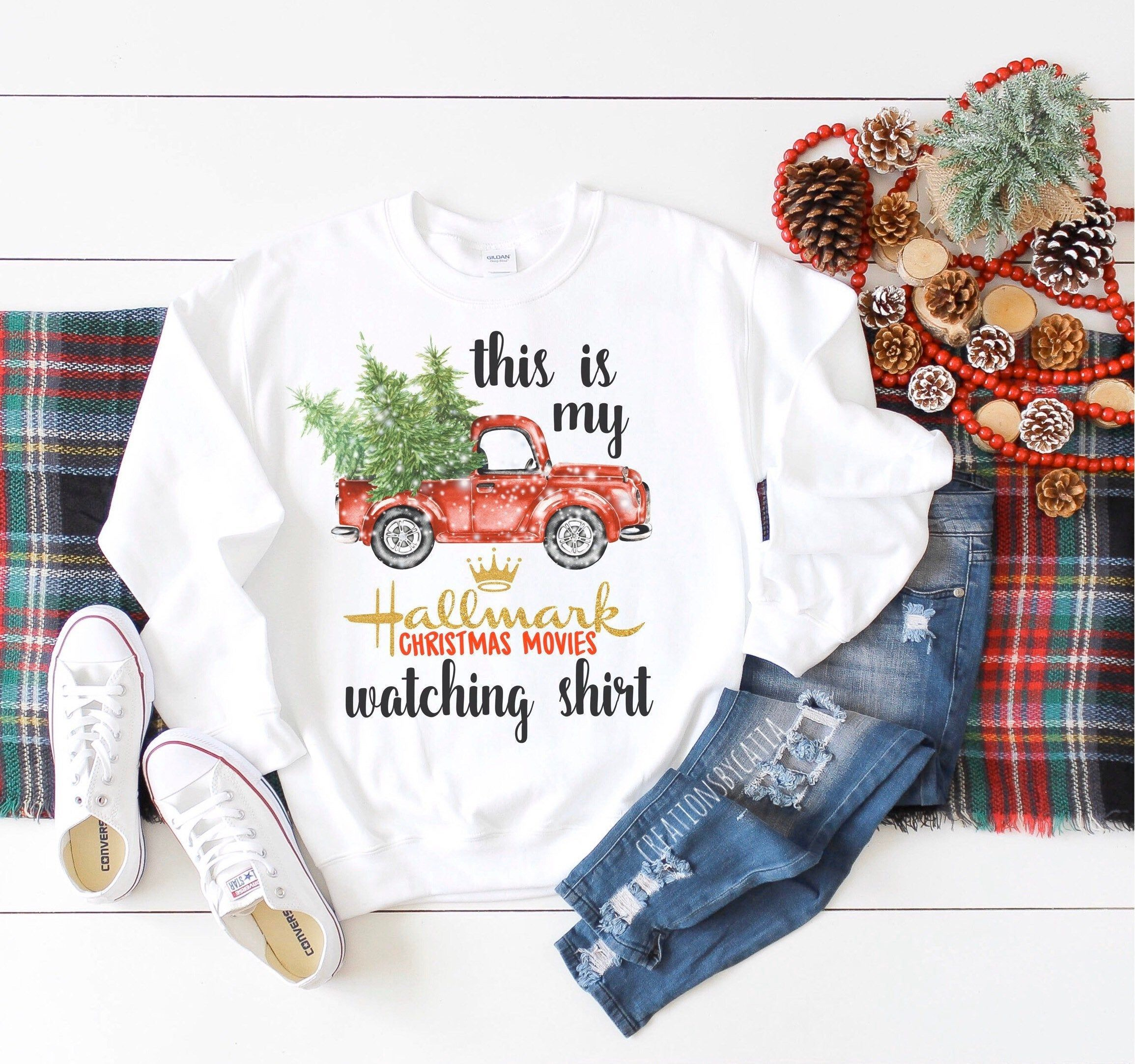 Hallmark Christmas Sweater, This Is My Hallmark Christmas