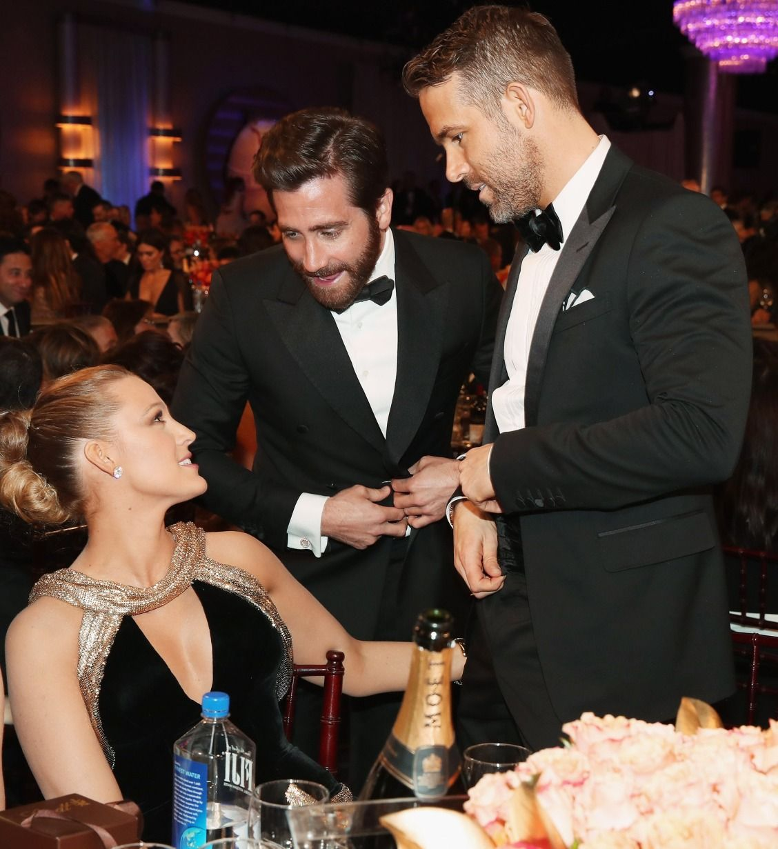 Inside the Golden Globes: Blake Lively, Jake Gyllenhaal, and Ryan Reynolds