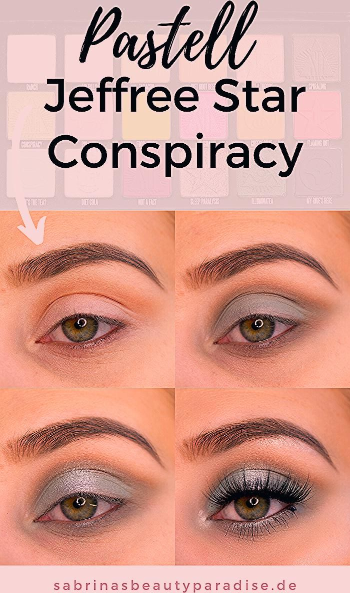Photo of Pastell Augen Make Up Conspiracy Palette Jeffree Star