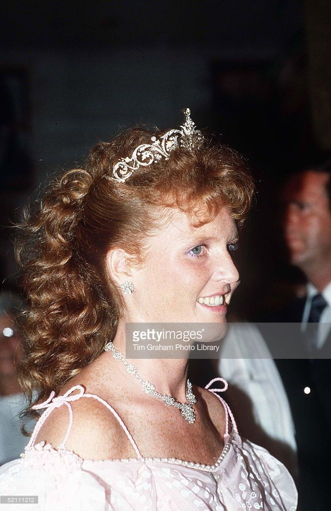 The Duchess Of York, Formerly Sarah Ferguson, Attending A