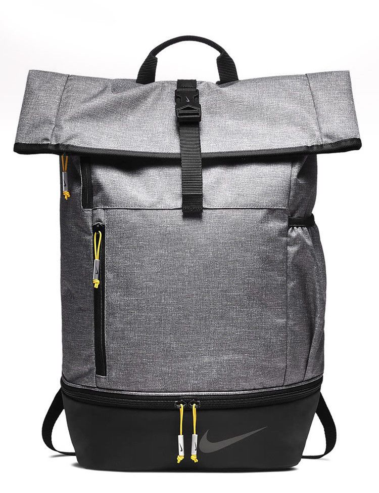 Details about NEW Nike Golf Modern Sports Backpack Grey