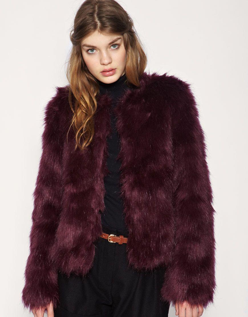 1000  images about Fabulous Faux Fur on Pinterest | Coats Topshop