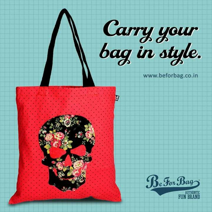 Carry the gym clothes, water bottles, keys and everything else that you need with at most comfort. #bags #totebags #comfort #beforbag