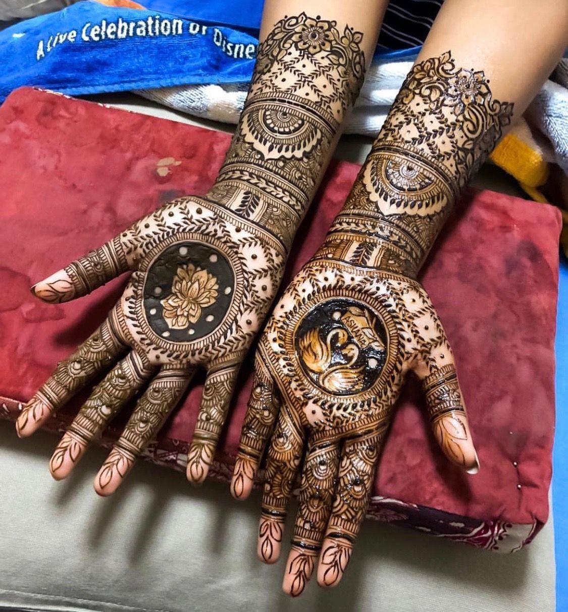 Artist disha creationz singapore with images henna