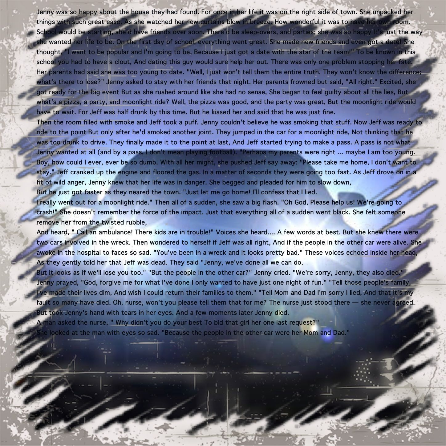 how young is too young to drive essay Drive in essays: over 180,000 drive how to drive your instructor mad too old to drive dieing to drive too old to drive how to to drive at the young age.