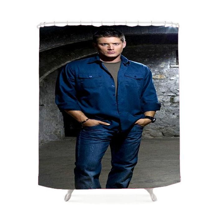 Supernatural Dean Winchester Shower Curtain With Images