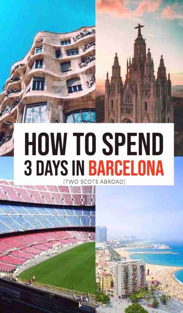 How to spend 3 days in Barcelona, Barcelona itinerary in 3 days. Best things to do in Barcelona in 3 days, Long weekend in Barcelona, Barcelona travel tips, Barcelona bucket list y #Barcelona #Spain #Europebucketlist #travelfrases
