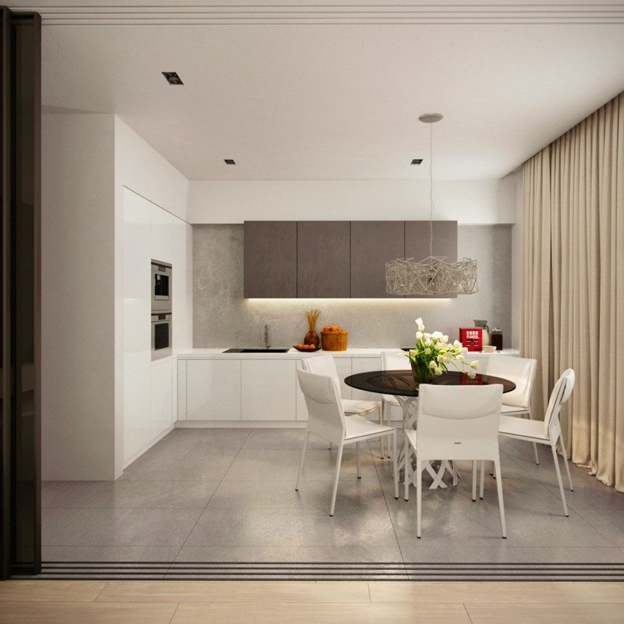 Apartment for musician by Alexandra Fedorova 06 | kitchen ...