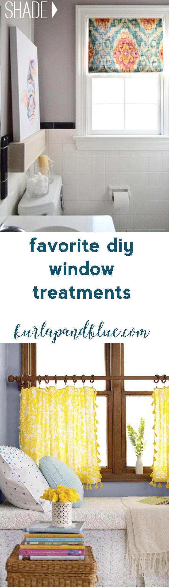 Window decor diy   favorite window treatment tutorials  window tutorials and craft