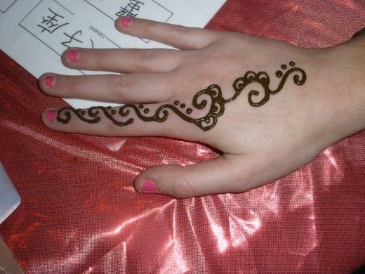 Easy Mehndi Ideas : Simple easy mehndi design henna eid