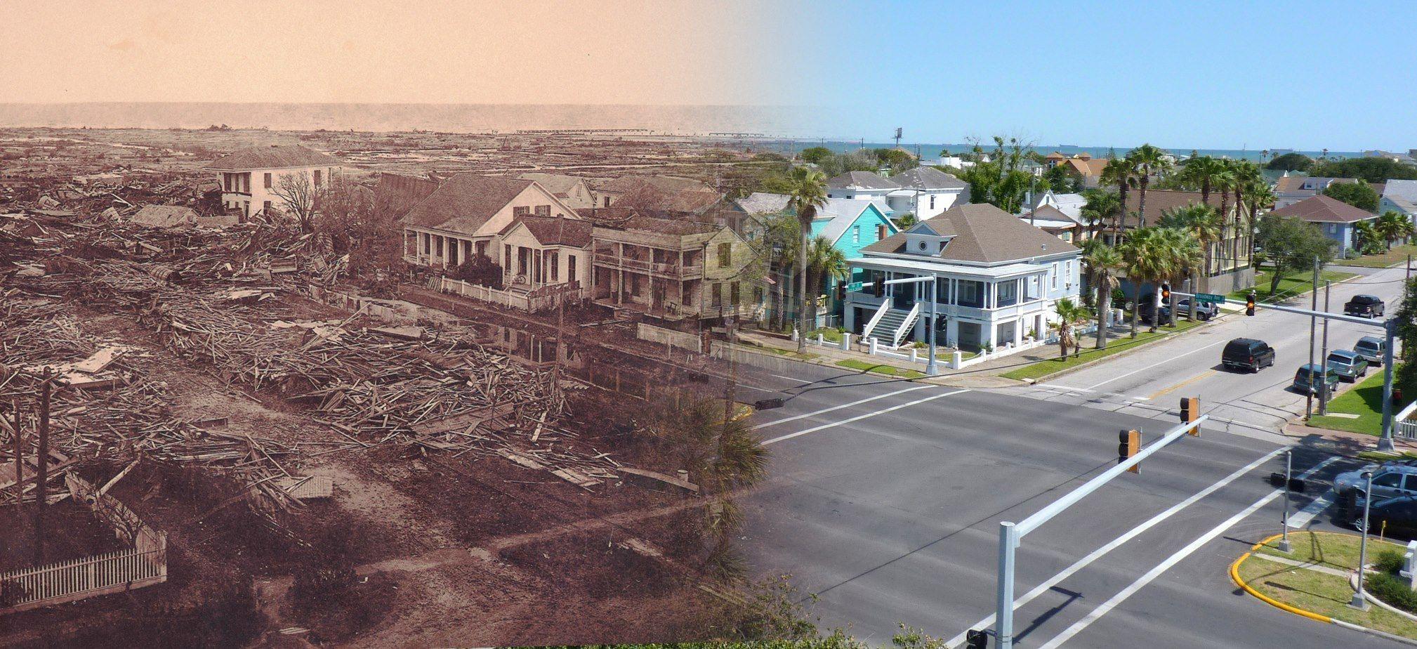After Disaster 8 U S Cities That Went From Ruin To Rebirth Galveston Hurricane Galveston 1900 Galveston Hurricane