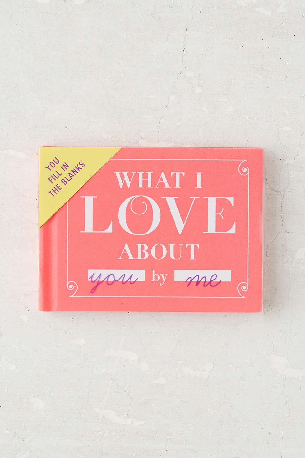 what i love about you by knock knock | gifts for friends | pinterest