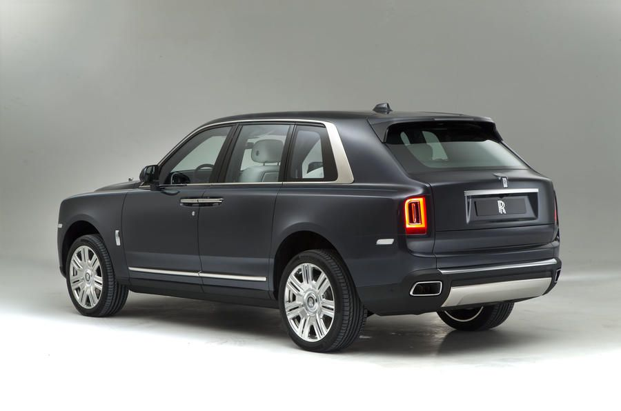 Rolls Royce Cullinan Revealed Exclusive Pictures Of Luxury Suv