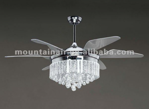 mountainair crystal lamp decorative ceiling fan high quality