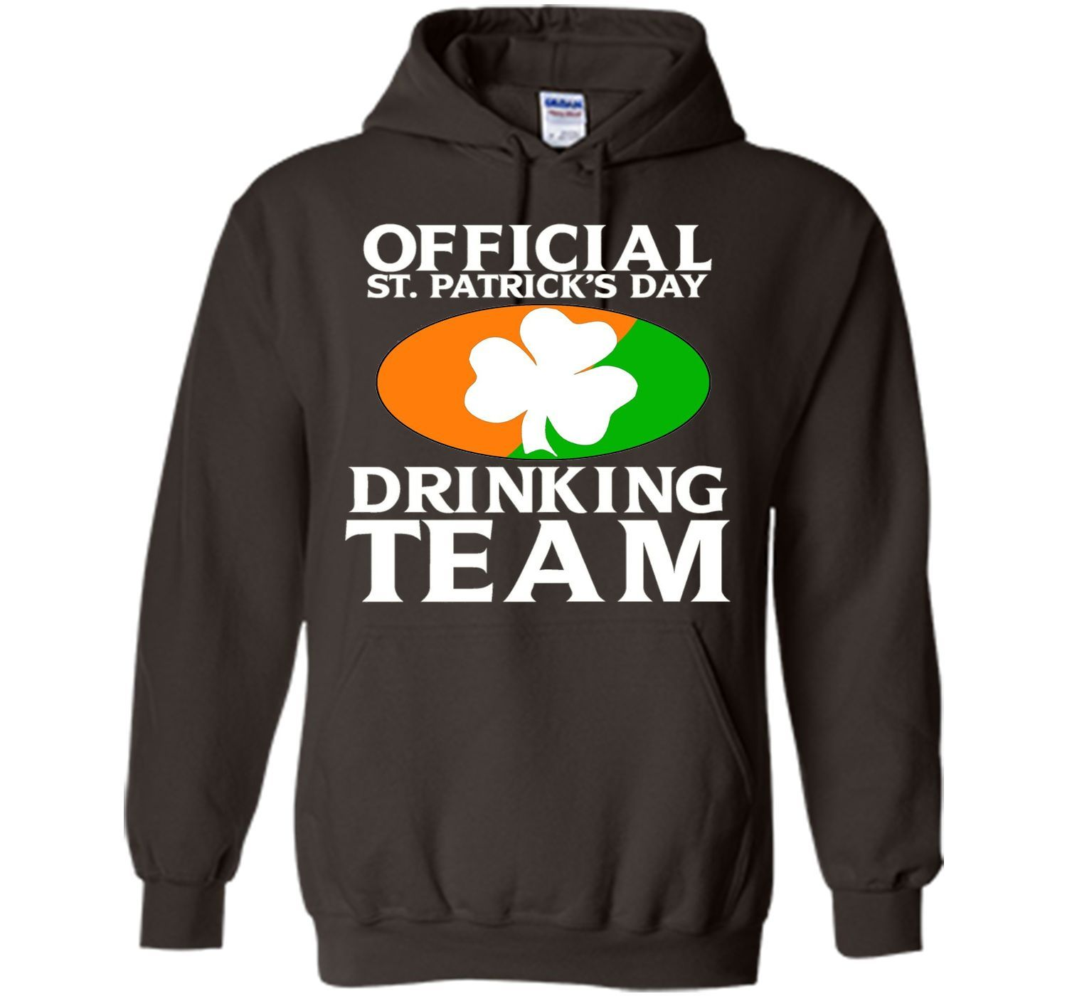 Official St. Patrick's Day Drinking Team Funny T-Shirt