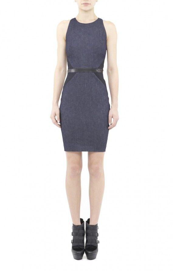 Nicole Miller Artelier Cassie Denim Dress $375