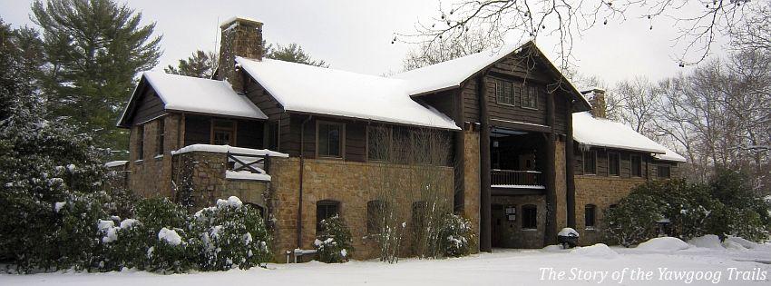 The Bucklin Memorial Building in winter at Camp #Yawgoog ...