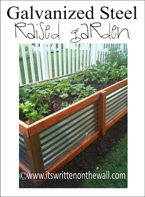 galvanized raised garden bed. Raised Beds For Vegetables Gardens Just Got Kicked Up A Notch With This Galvanized Steel Garden Bed D