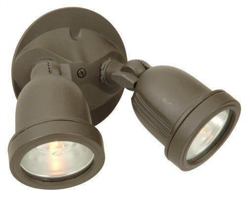 Craftmade Z412-63 2 Light Halogen Flood Security Light By
