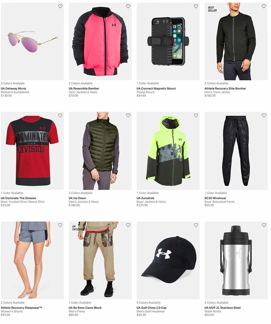 Under Armour Holiday Book 2018 Ads Scan Deals And Sales See The Under Armour Holiday Book Ad 2018 At 101blackfriday Com Holiday Books Under Armour Books 2018