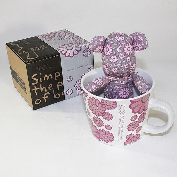 JAMBIFY has your SYNC - [Flower Pi... in stock!    http://www.jambify.com/products/sync-flower-pink-stuffed-bear-mug-3-3-inch-height?utm_campaign=social_autopilot&utm_source=pin&utm_medium=pin