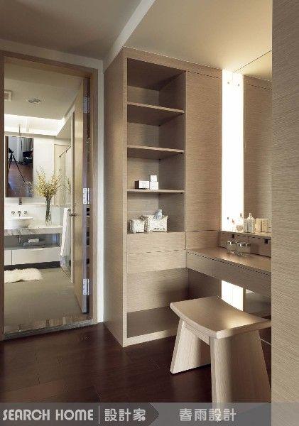 更衣室 化妝台 鞋櫃 Interior Design Living Room Vanity Design
