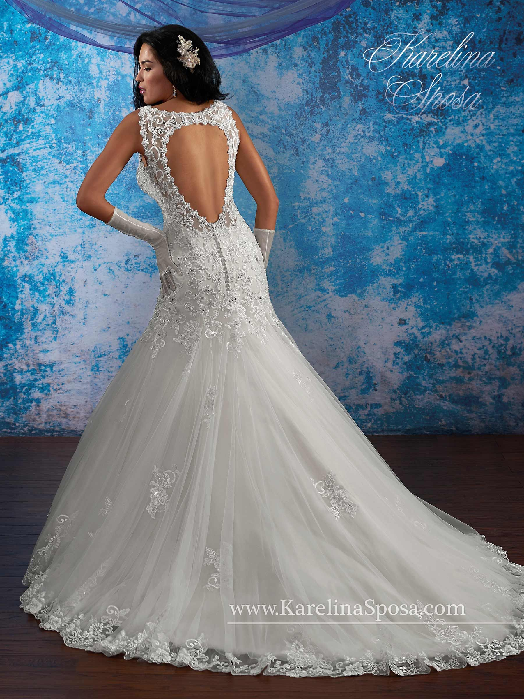 Bridal Gowns - Karelina Sposa - Style: C8082 by Mary\'s Bridal Gowns ...