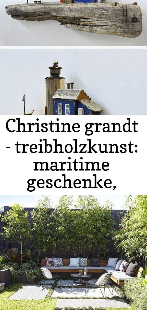 Christine grandt - treibholzkunst: maritime geschenke, design, kunst, art, holz skulptur treibholz 4 #smallcourtyardgardens
