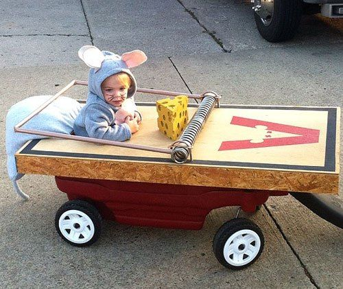 Kid Costumes- Mouse Trap
