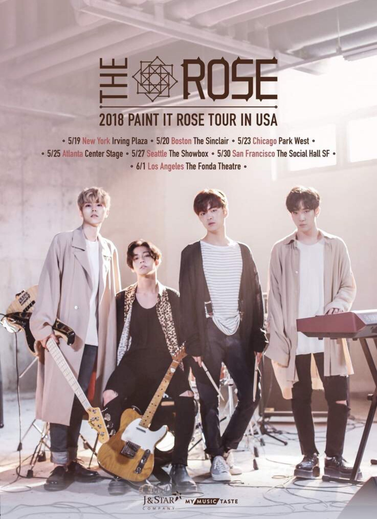 Pin By Orenji On The Rose In 2019 Korean Bands Rose Kpop