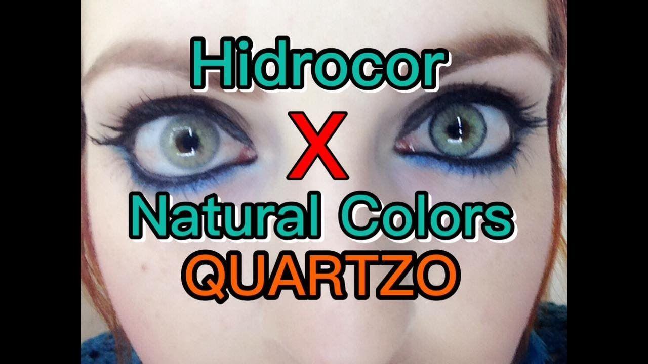 a1fc892f57 HIDROCOR QUARTZO X NATURAL COLORS QUARTZO (Diferença/Comparação SOLÓTICA.
