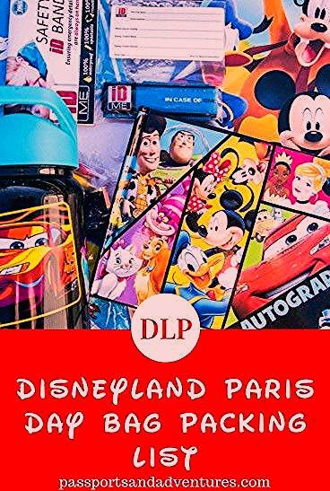Photo of Essential items you need to pack in your Disneyland Paris Backpack