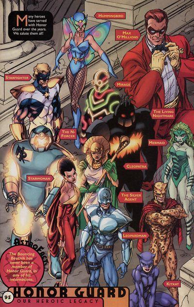 Honor Guard (Team) - Comic Vine   Heroes   Comics