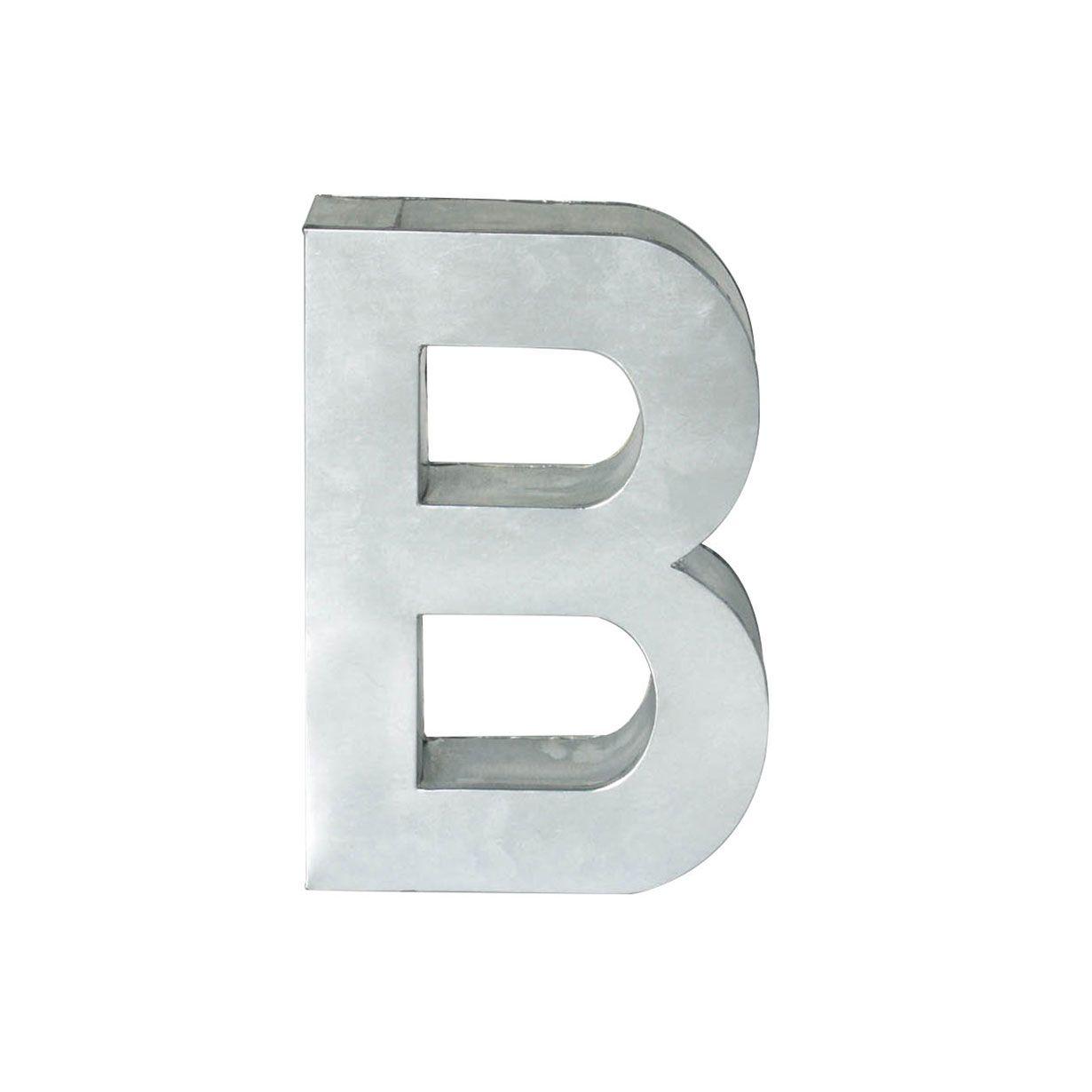 SELETTI Lettera in Metallo Metalvetica H Cm 35 H