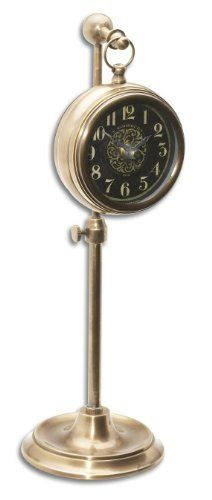 "Uttermost Pocket Watch Brass Woodburn 4 x 4 x 12""  #Brass #Pocket #PocketWatch #RusticMantelClock #Uttermost #Watch #Woodburn The Rustic Clock"