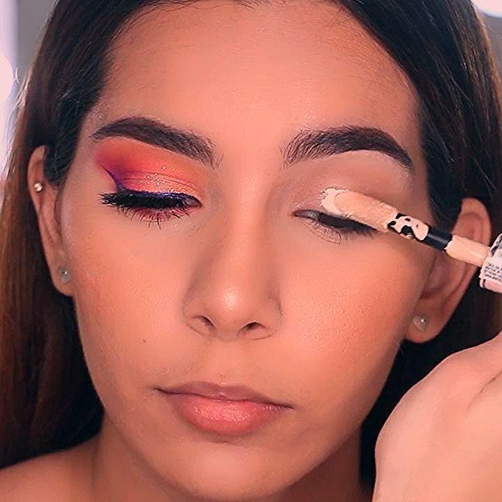 Photo of Maquillaje en tonos naranja