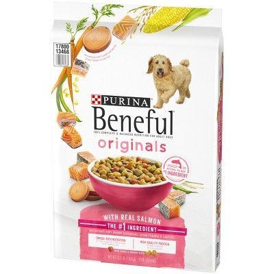 Purina Beneful Originals Real Salmon Dry Dog Food 15 5lbs Size